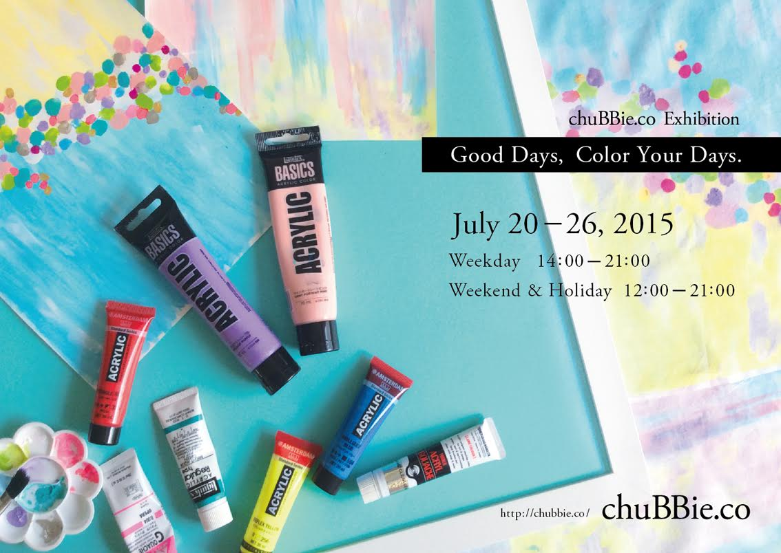 chuBBie.co color your days1